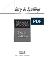 Vocabulary & Spelling - British Tradition