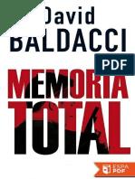 Memoria Total - David Baldacci