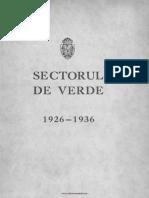 Primăria Sectorului IV Verde-1926-1936