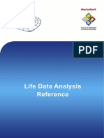 Life Data Analysis Reference