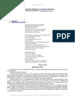 Jorge Daniel Antonini Akerr La Comunidad Religiosa y la Funcion Simbolica