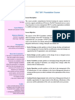 Course Factsheet_ITIL Foundation