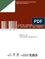 MAPA - Livro Curso Sobre IGs