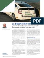 La Batería de Litio-ion