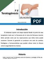 Fármacos y Teratogénesis  (REDVENEO)
