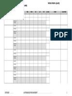 sample internal time sheet