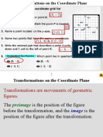 ch 4-2 transformations on the cooridinate plane