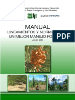 Normas Tecnicas Manejo Forestal