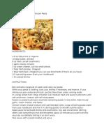 Resep Pasta