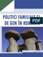 Politici Familiale Si de Gen in Romania