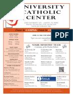 UCC Bulletin 4-24-2016