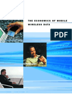 The economics of Mobile Wireless Data