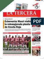 Diario La Tercera 22.04.2016