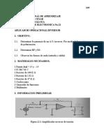 Amplificador Operacional Inversor.doc