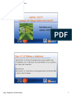Actualizaciones NFPA 101 de La Ed 2009 Impr Color