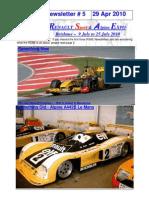 RSAE 10 Newsletter#5