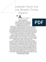 Sobre La Humildad Por Bhaktitirtha Swami