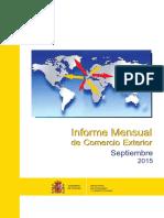 Informe COMEX Septiembre 2015