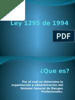 Ley 1295 de 1994