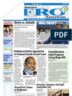 Baltimore Afro-American Newspaper, May 08, 2010