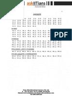 Paper 1 Solution IIT