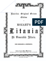 Mozart - Litaniae de venerabili altaris Sacramento K. 243