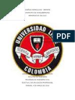 DISEÑOS HIDRAÚLICOS - INFORME.docx