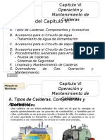II Capitulo I (Operación y Mantenimiento Calderas).pptx