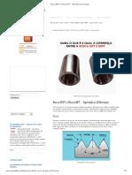 Rosca BSPT e Rosca NPT - Aprenda as Diferenças