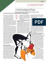 Technological Fix - Sarewitz