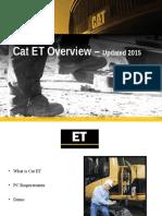 Customer Cat ET Overview - Updated 2015