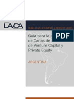 Cartas de Intencion de Venture Capital y Private Equity