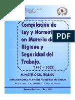 Compilacin de Leyes y Normativas Higiene y Seguridad