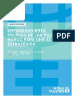 Empoderamiento Politico de Las Mujeres Lac 2014-17 Unwomen