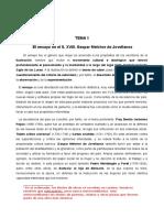 Tema 1. El Ensayo en El Siglo XVIII. Gaspar Melchor de Jovellanos.