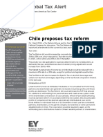 Chile Proposes Tax Reform