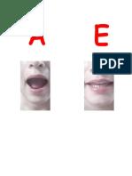 Articulacion de Vocales