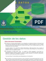 BD Sesion I Introduccion a Base de Datos