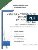 Antologia Comentada Matemáticas IV 2016