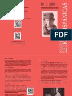 Folleto Descriptivo de Letras Hispánicas (2016-1)