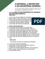 Copia de Acta de Entrega y Recepcion de Cargo.