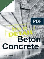 Best of Detail BetonConcrete