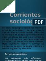 Corrientes Sociologicas