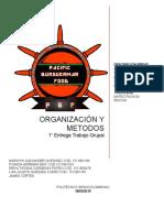 Trabajo Para Entregar Metodos y Organizacion
