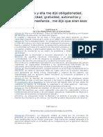 Principios de La Edu Uruguaya