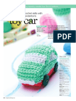 Toy Car - Crochet
