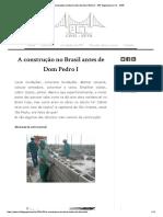 A Construção No Brasil Antes de Dom Pedro I _ PET Engenharia Civil - UFPR