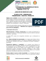 PPP Presentación Preparación Práctica Producción