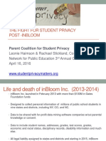 The Fight for Student Privacy Post-InBloom NPE 4.16.16
