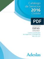 Catalogo Isfas Cordoba 2016
